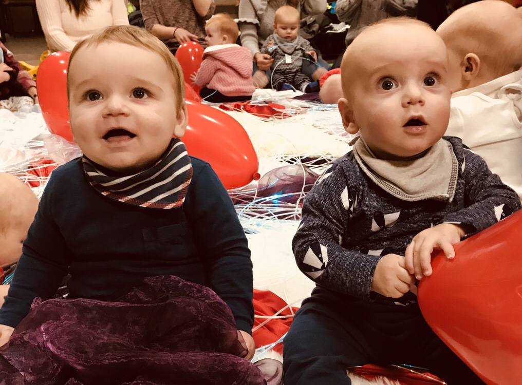 Taking twins to baby groups can be a right pain in the arse – unless you find the right one