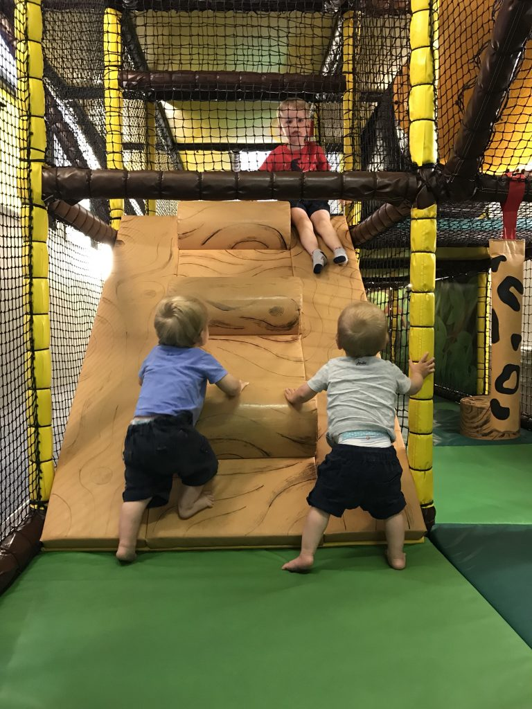 Soft play at Trevornick