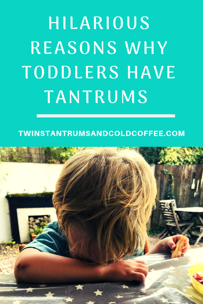 HILARIOUS REASONS WHY TODDLERS HAVE TANTRUMS