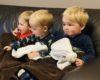 twins, toddler, tv
