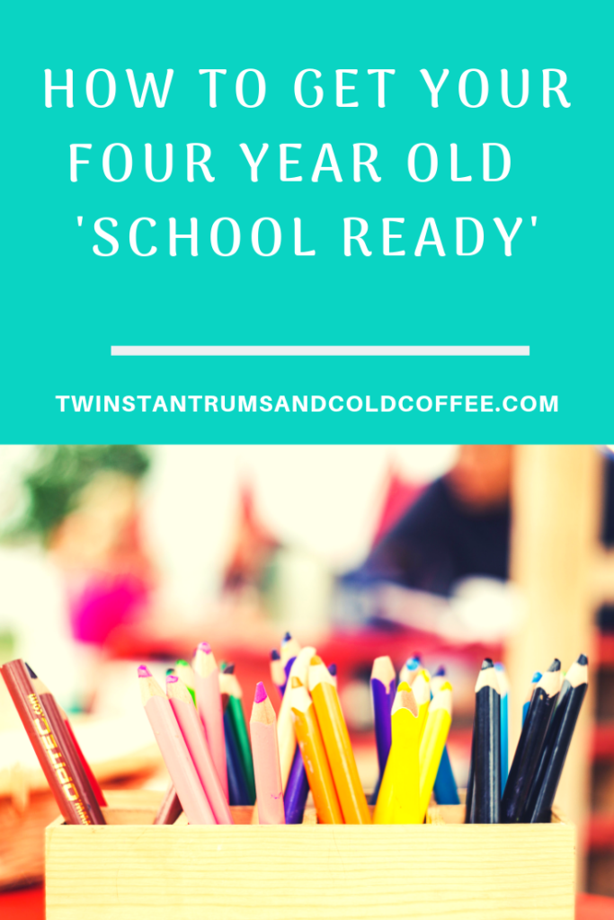 how to get your four year old school ready