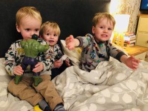 Children calling mummy all day long