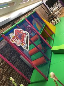 Soft play at the new Moo Music play cafe