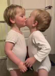 Twin kisses