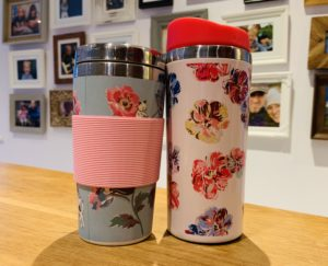 What every mum wants for Valentine's Day - a travel mug to keep her coffee hot