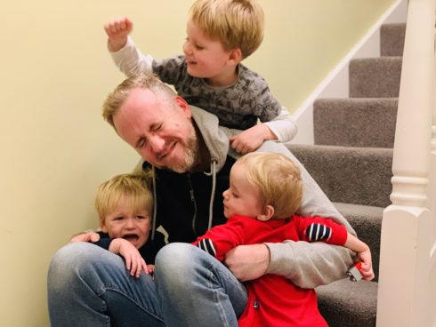 Daddy's survival guide to a weekend alone with three kids under four