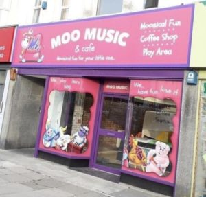 The new Moo Music cafe on Mutley Plain
