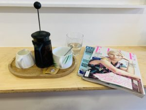 break at the hairdressers for the #ItsOK linky post