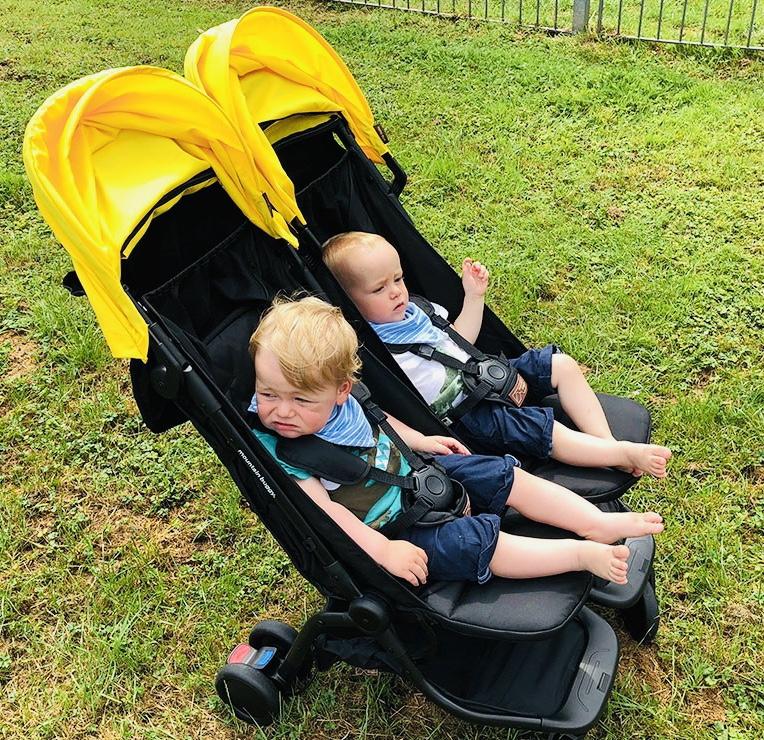 Twins enjoying the Nano Duo