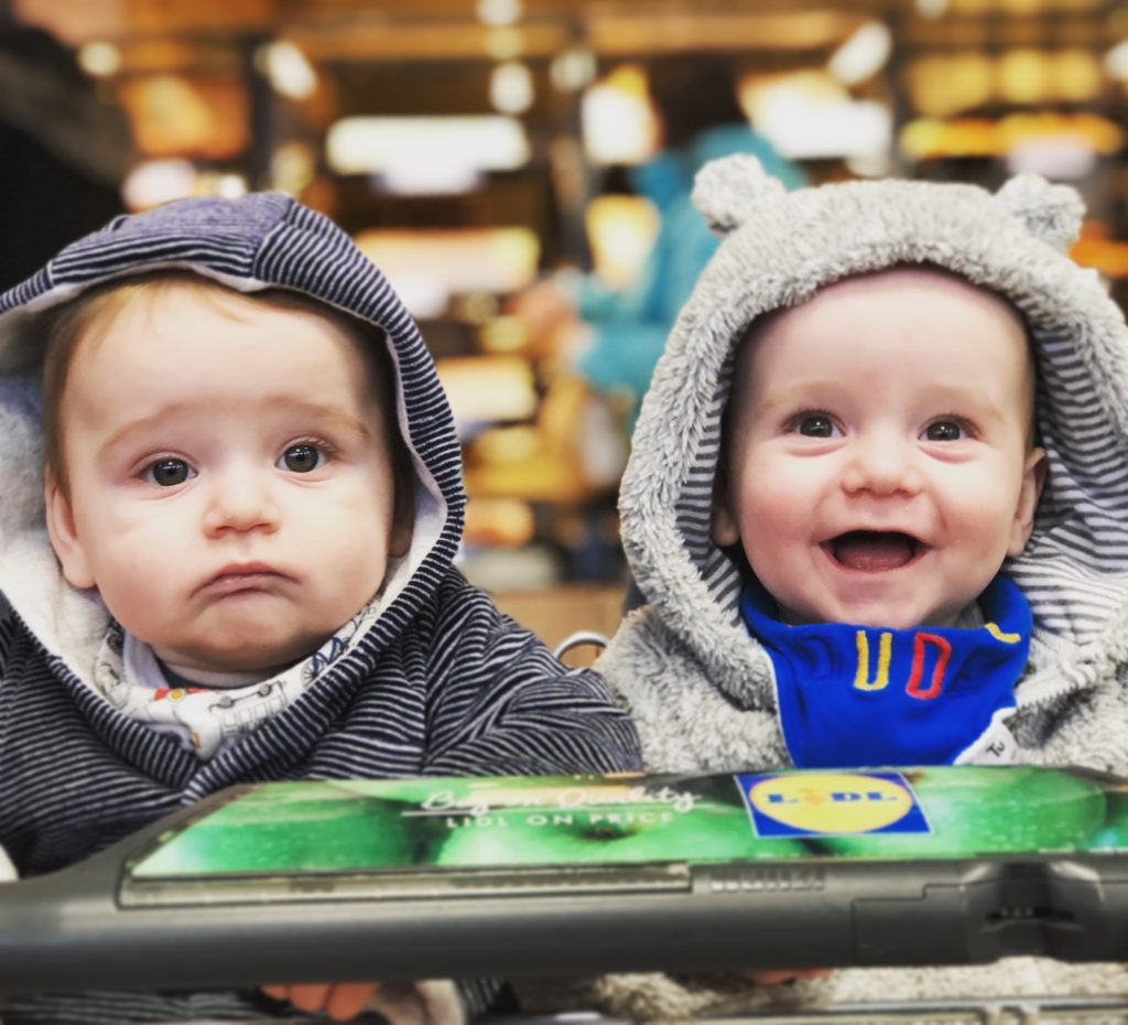 Twins attract lots of attention