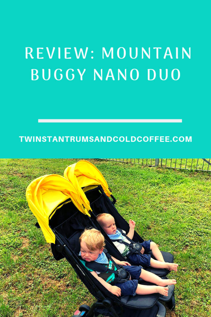 Pin for a review of the Mountain Buggy nano duo