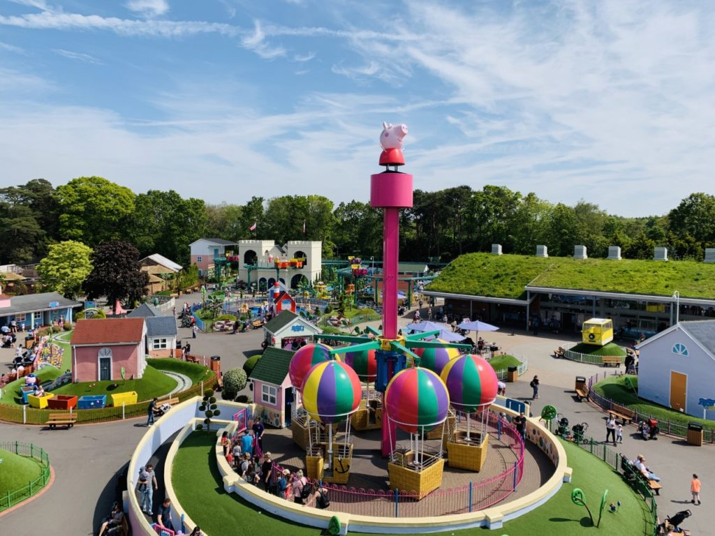View of Peppa Pig World
