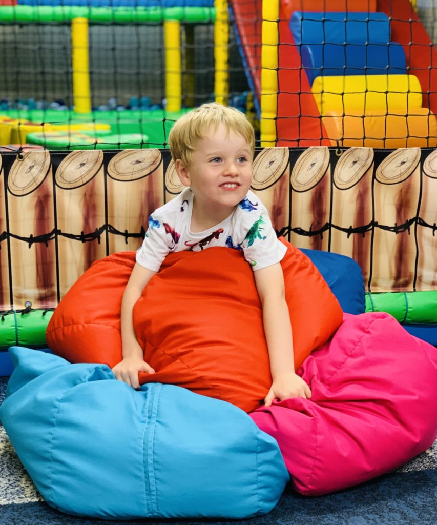 Soft play at Glynn Barton