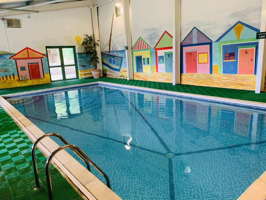 Indoor pool at Glynn Barton