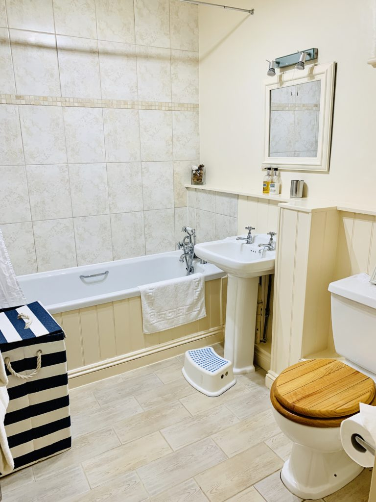 Bathroom at Glynn Barton cottages