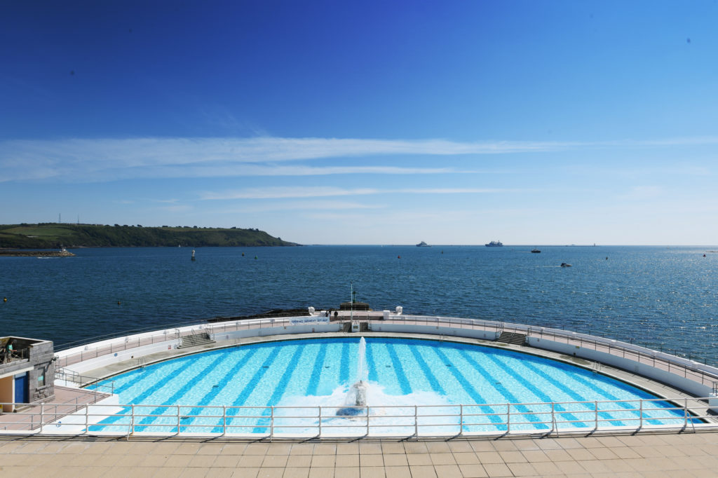 Tinside pool in Plymouth