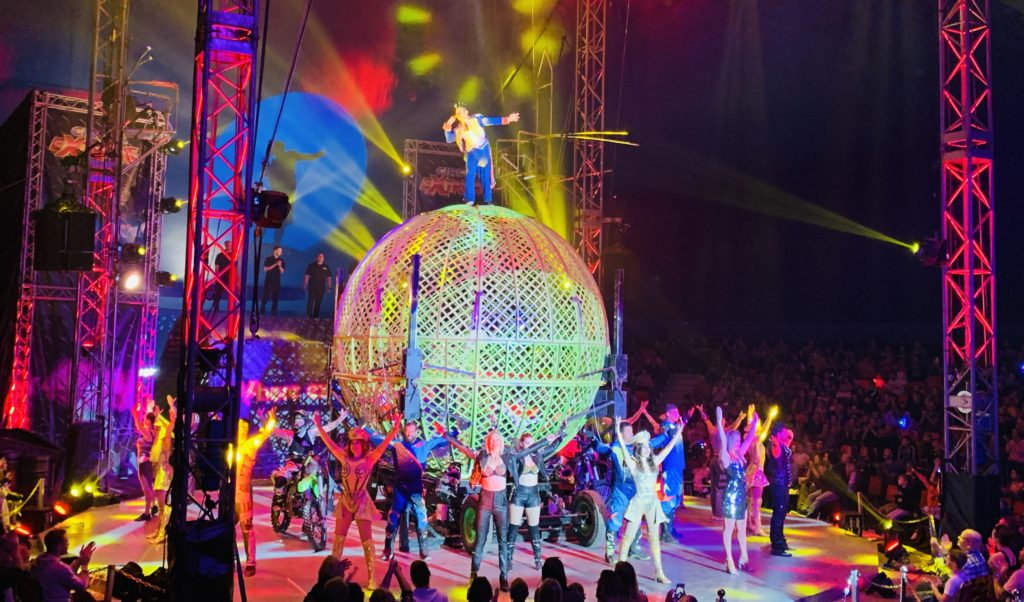 Finale of Circus extreme