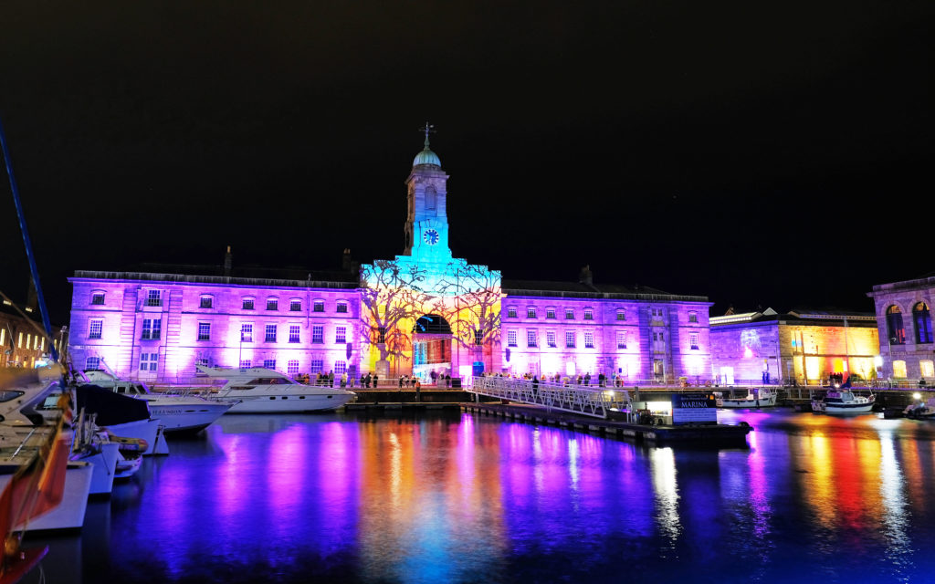Plymouth's Illuminate Festival