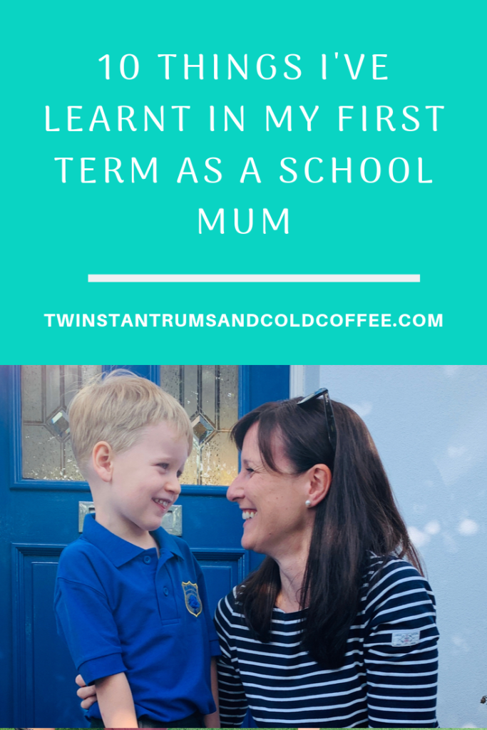 PIN for what a mum learns in the first term of school