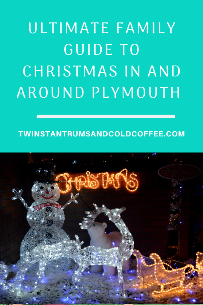 PIN image for ultimate Christmas guide in and around Plymouth