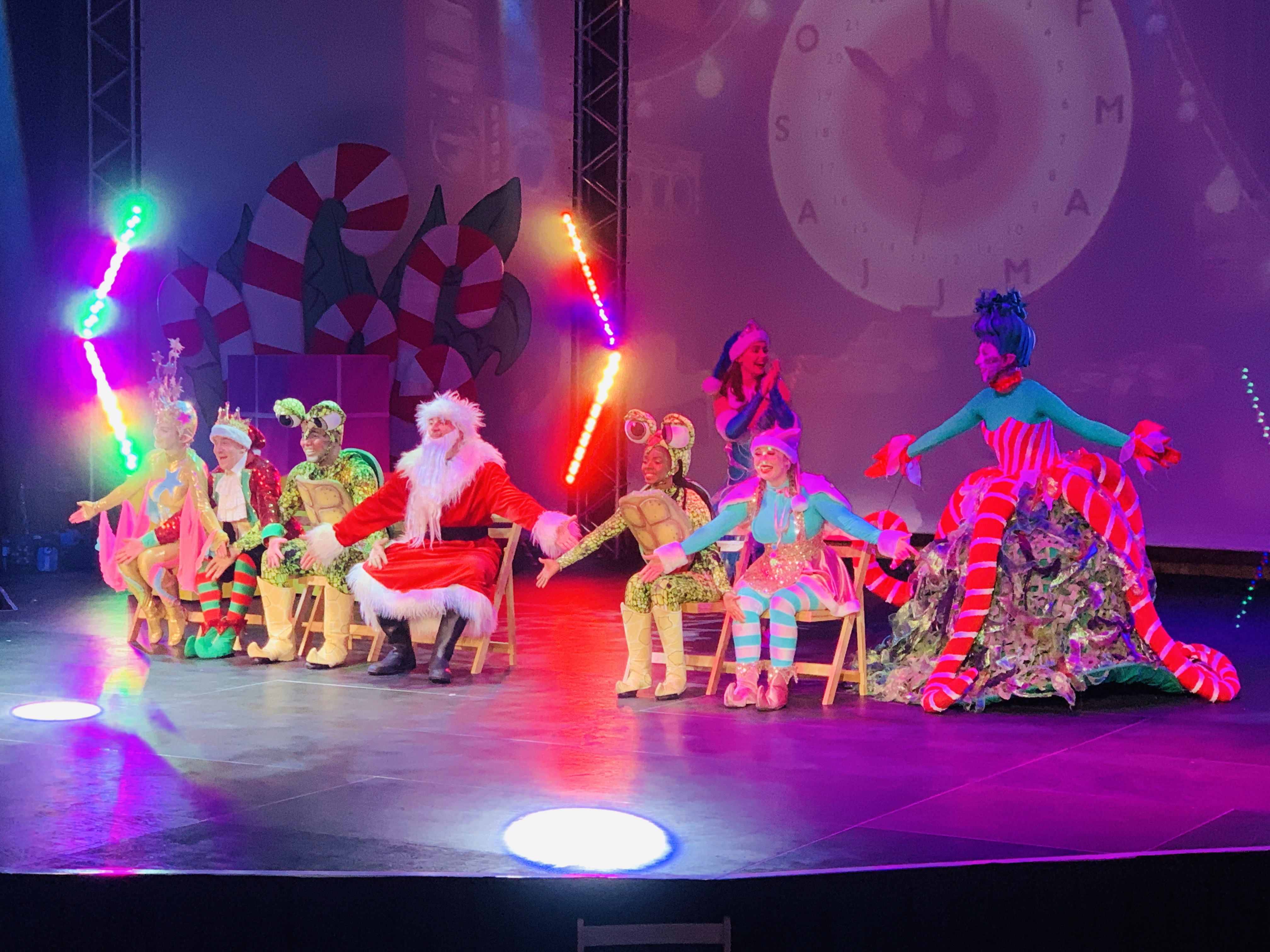 Christmas show at Bluestone's Christmasland