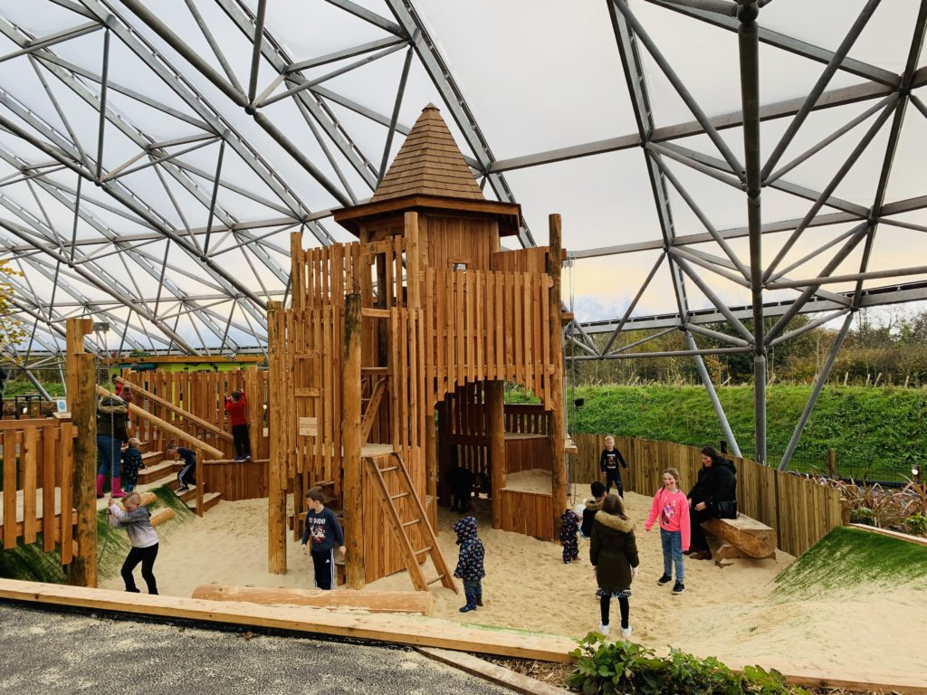 Sand Play at Bluestone's Serendome