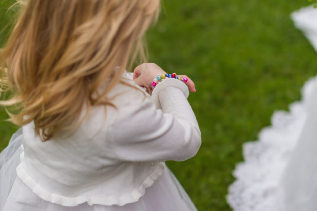 Six ways to involve children at a wedding - including a flower girl