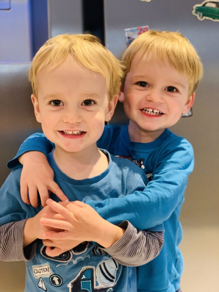 Mum guilt over no one-to-one time with twins