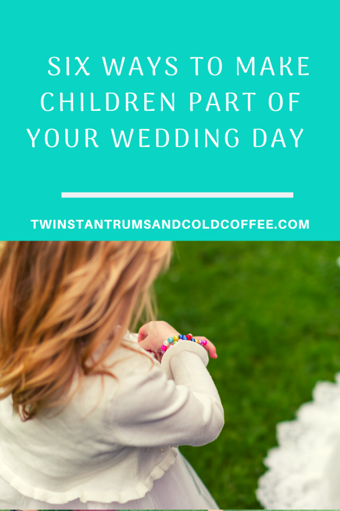 Six ways to make children part of your wedding day