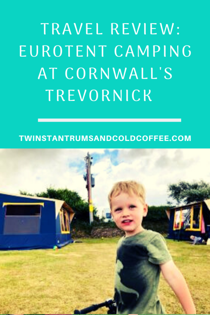 Pin image for travel review of Trevornick campsite in Cornwall