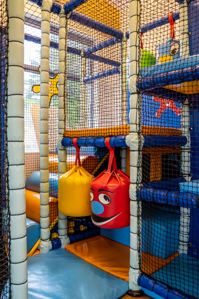 Soft play at The Park, Cornwall