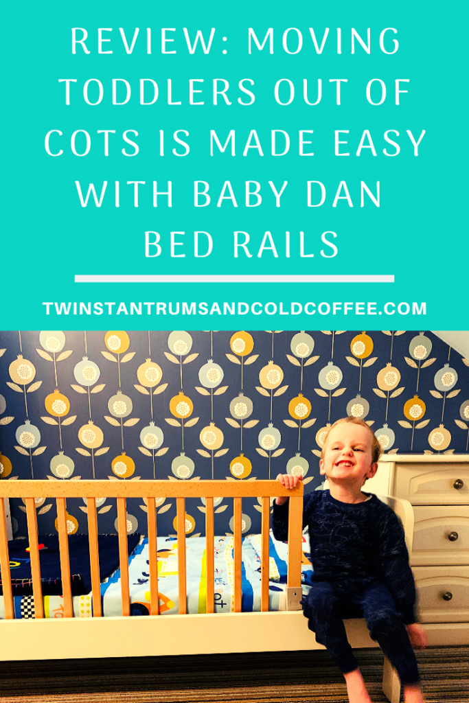 PIN image for Baby Dan wooden bed rail review