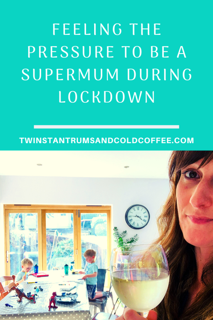 PIN IMAGE feeling the pressure to be a supermum during lockdown