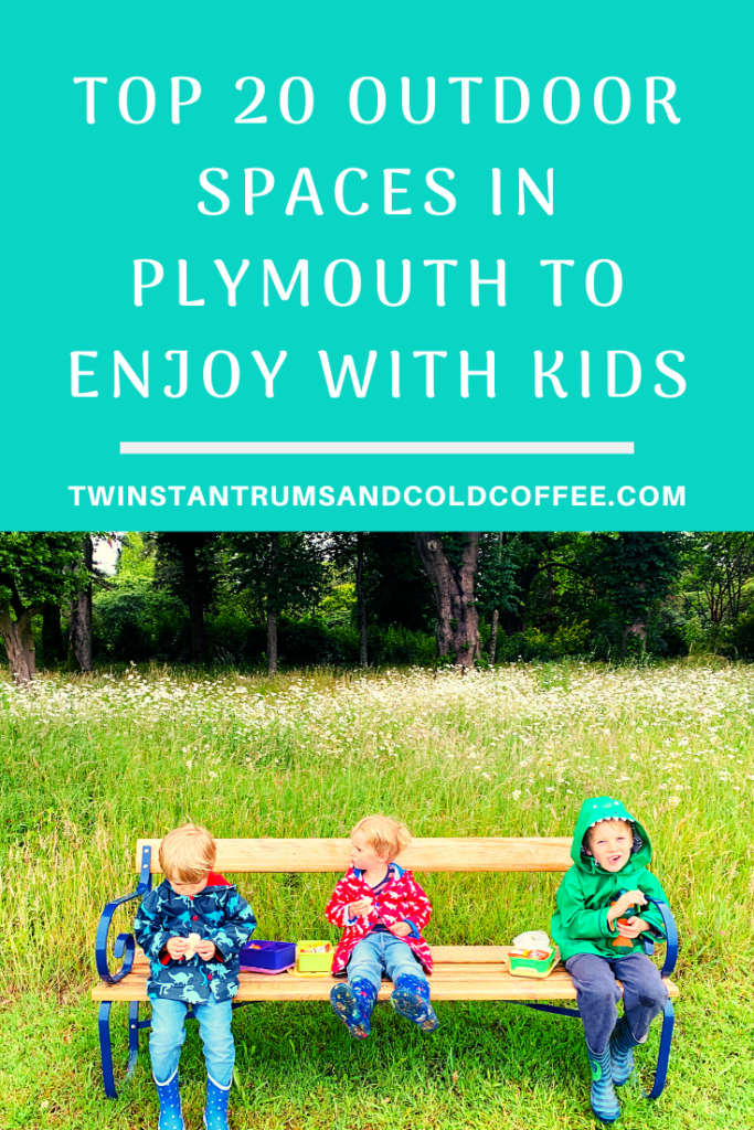 PIN for top 20 outdoor spaces in Plymouth to enjoy with kids