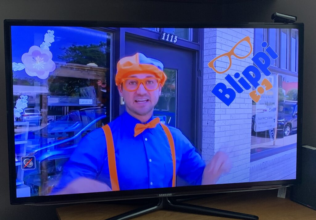 TV presenter Blippi
