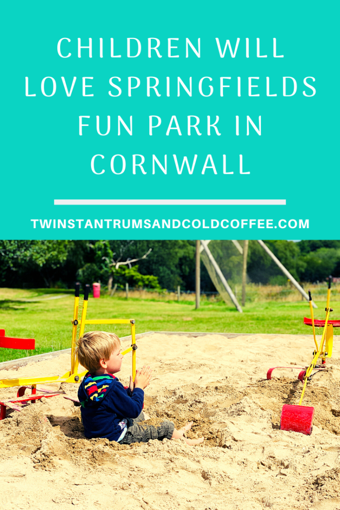 PIN IMAGE FOR CHILDREN WILL LOVE SPRINGFIELDS FUN PARK IN CORNWALL