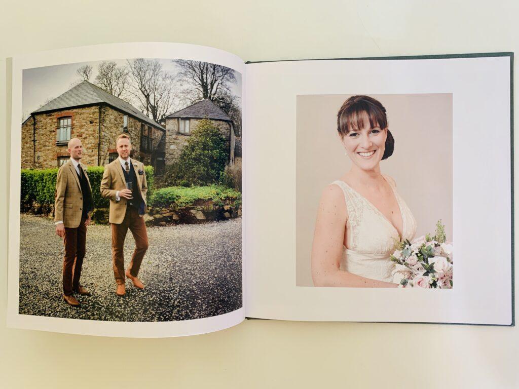 Wedding album photo book