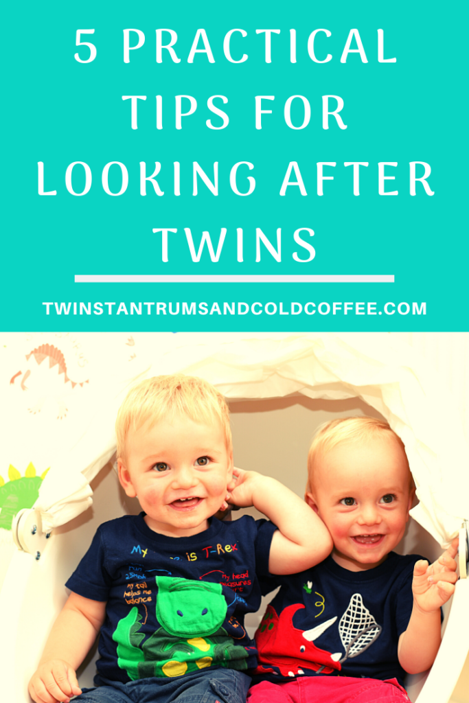 PIN image for 5 practical tips for looking after twins