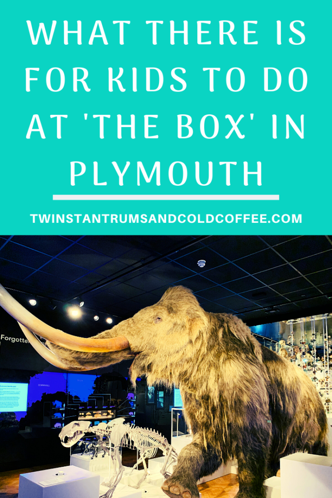 PIN image of a woolly mammoth model at the box museum in plymouth
