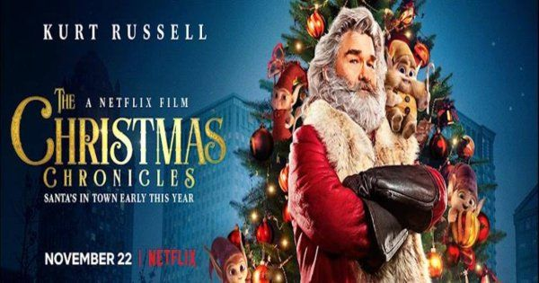 Christmas chronicles movie poster