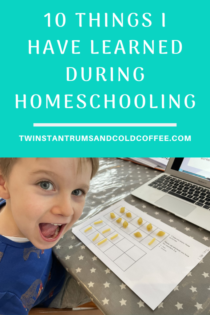 10 things I've learned during homeschooling