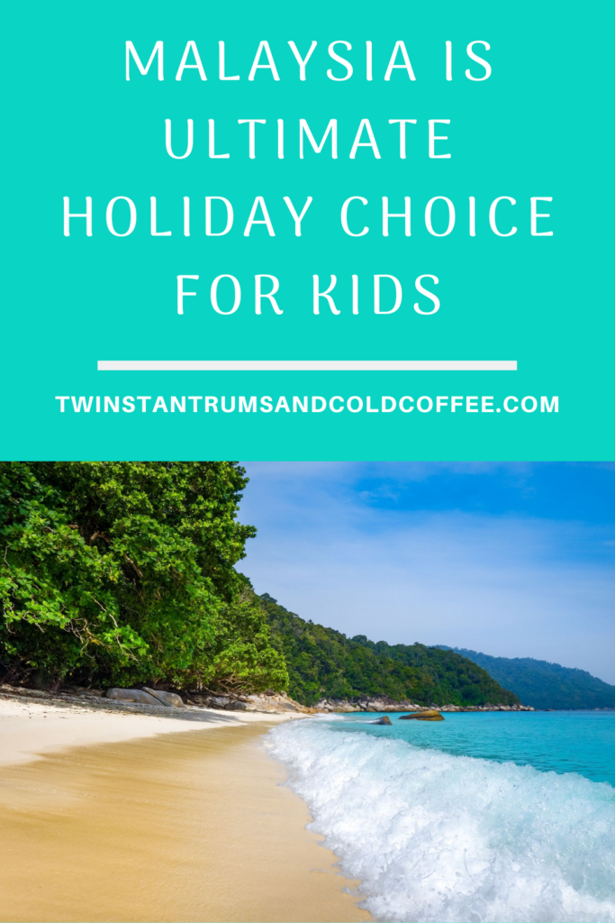 Beach in Malaysia showing it as a great holiday destination for children