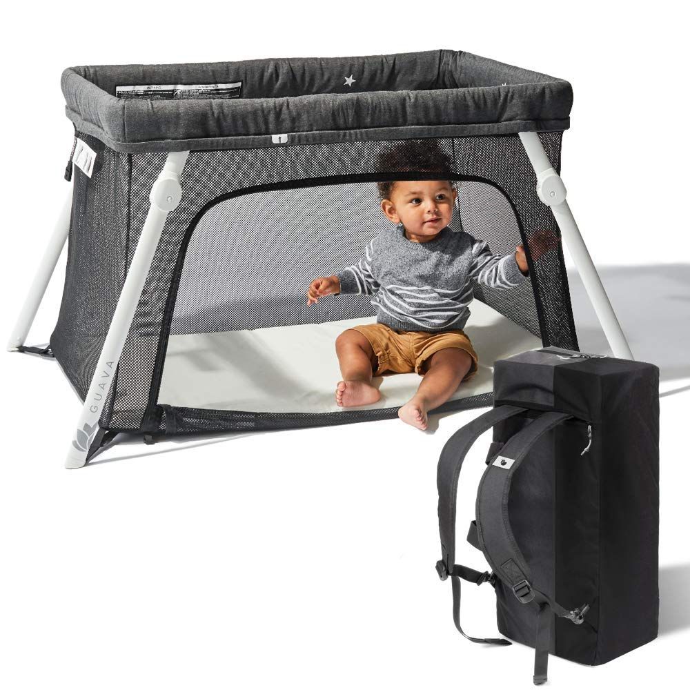 Lotus travel cot is ideal when travelling with twins