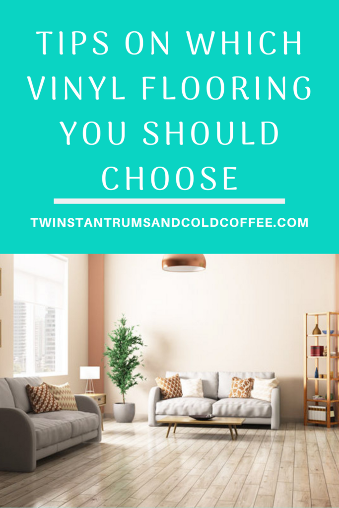 Vinyl flooring in a lounge of a house