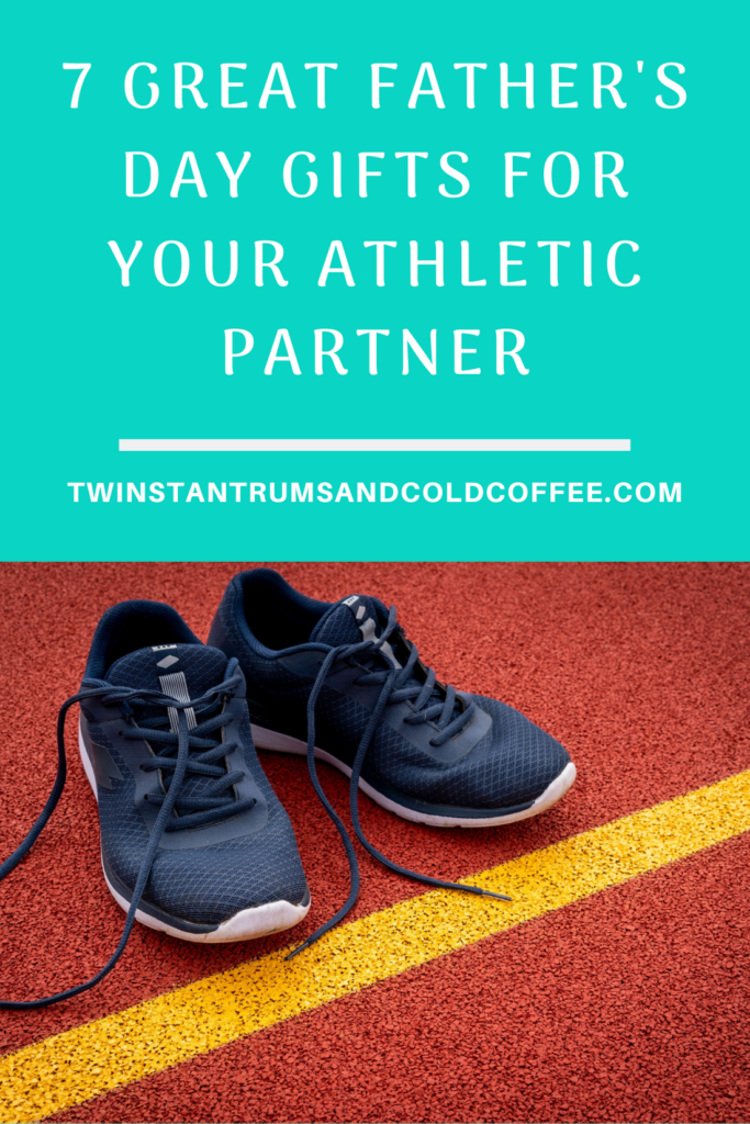 PIN of black training shoes as an idea for father's Day gifts for athletic partners