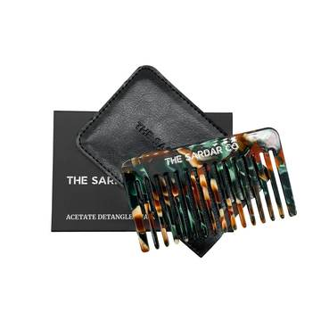 The Sardar Co detangler comb a must for a list of essential hair care products