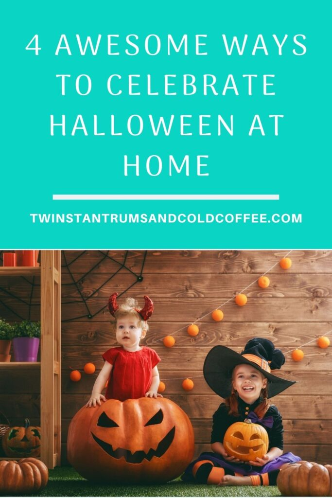 Four simple ideas for celebrating halloween at home